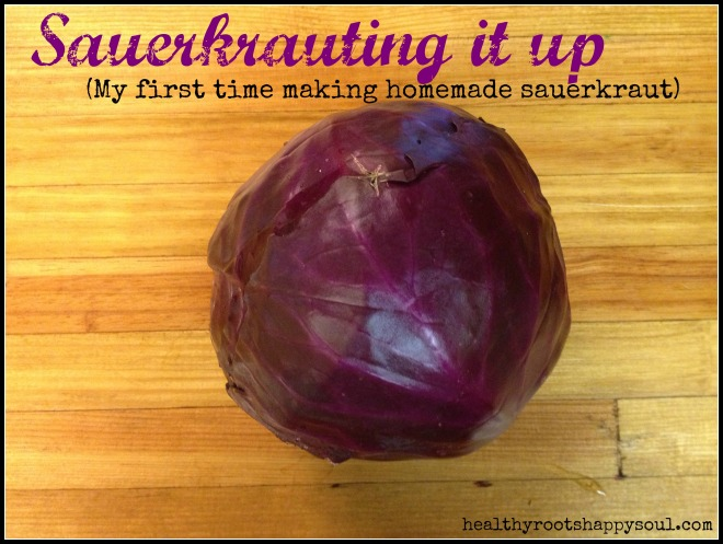 sauerkrauting it up